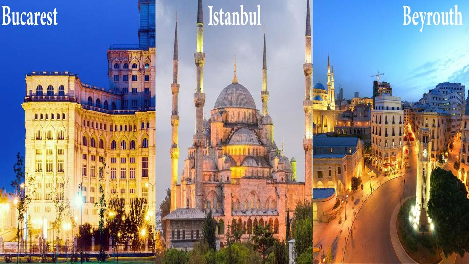consortium bucarest Istanbul Beyrouth